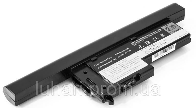 Аккумулятор PowerPlant для ноутбуков IBM/LENOVO ThinkPad X60 (40Y6999, IM1163LH) 14.8V 5200mAh