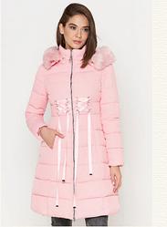 Куртка удлиненная женская Braggart Tiger Force цвета пудры топ реплика