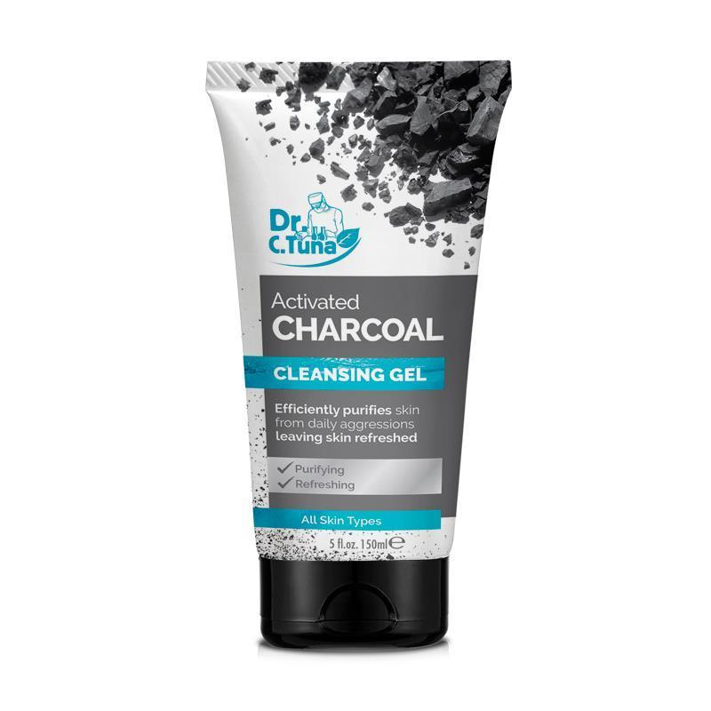 Farmasi Dr. C. Tuna Очищающий гель для лица с активированным углем  cleansing gel Activated Charcoal  Фармаси