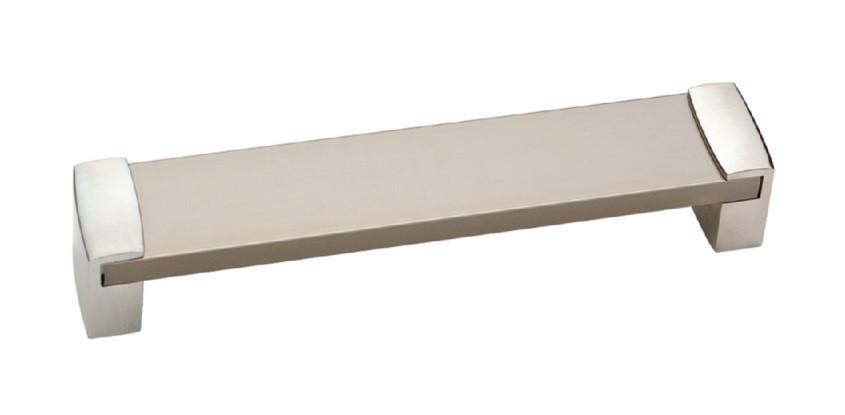 Ручка мебельная Ozkardesler 14.410-06/022 ALM VEGE BOY 128мм Хром-Сталь