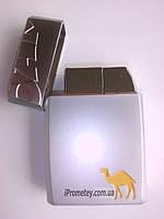 """Зажигалка подарочная сувенирная """"Кэмэлl"""" Коллекционная. Металл. Турбо. Многоразовая."""
