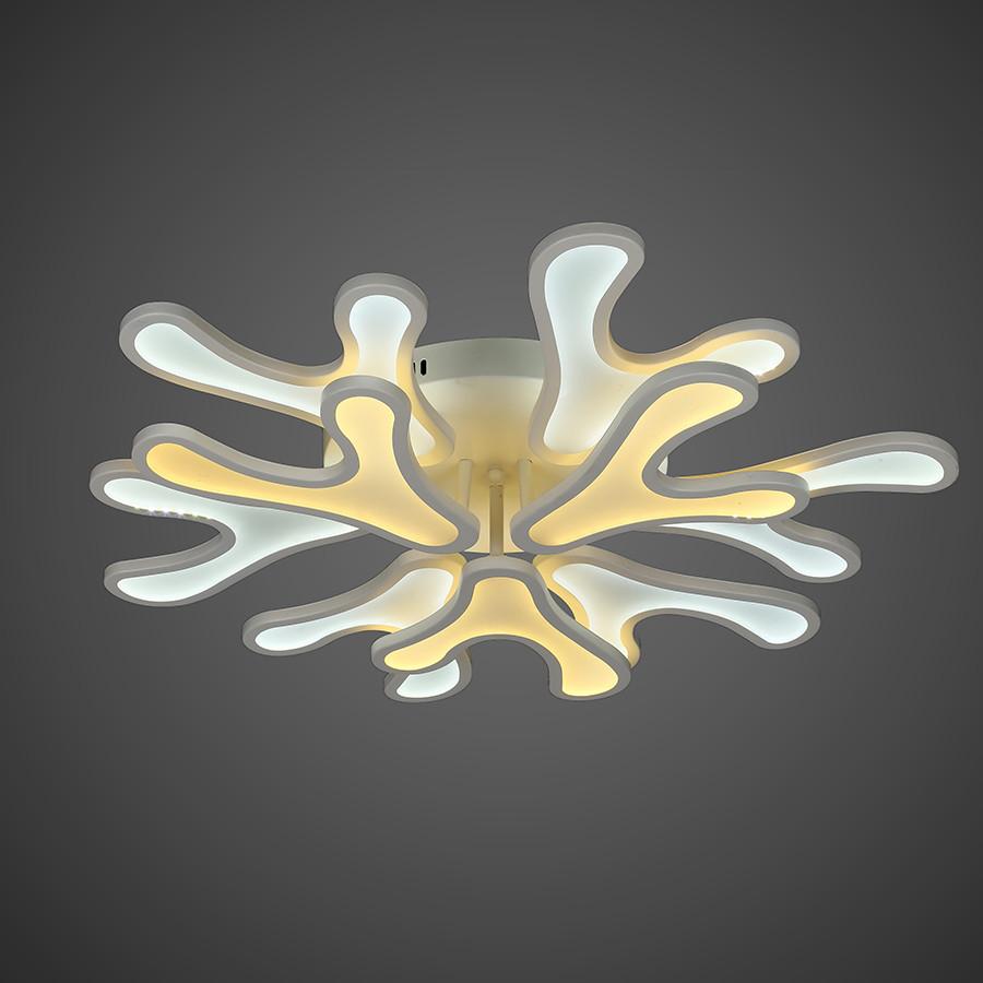 Люстра потолочная светодиодная  (модель  55-MX10018-6+3 WH LED )