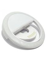 Селфи кольцо вспышка универсальное Selfie Ring Light USB белый RK-12 (RKW12) на юсб подсвтека