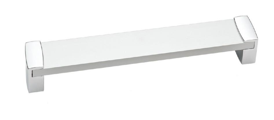 Ручка мебельная Ozkardesler 14.411-03 ALM VEGE BOY 160mm Хром-Матовый Хром