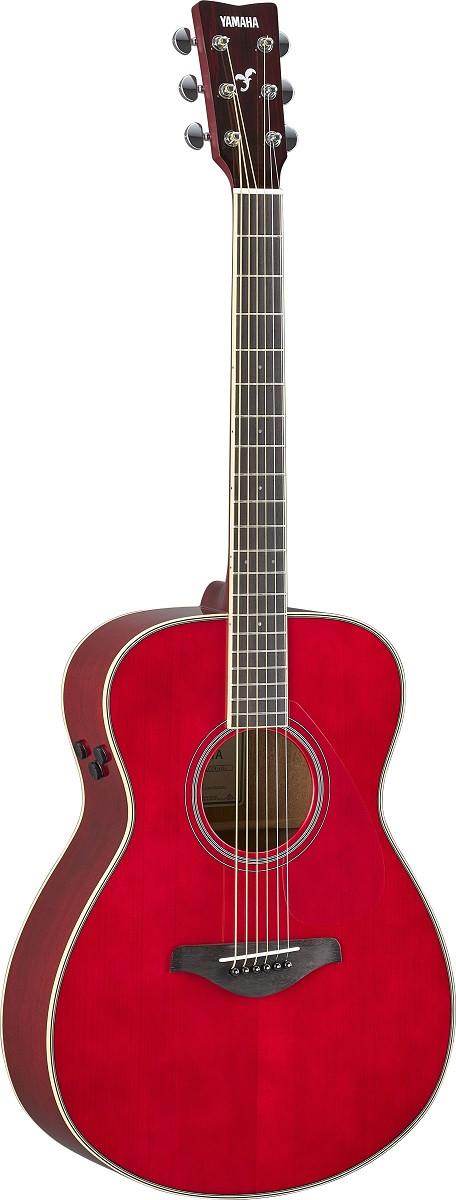 Електро-акустична гітара YAMAHA FS-TA (Ruby Red)