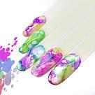 Акварельные чернила Yo!Nails INKS 4 (синий цвет), фото 4