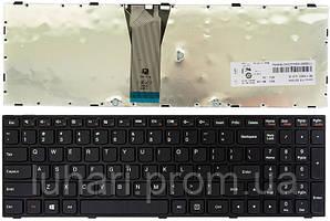 Клавиатура для ноутбука IBM/LENOVO B50-30, IdeaPad Z50-70 черный, черный фрейм