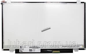"""Матрица 14.0"""" 1366x768 HD, LED, Slim, глянцевая, 40pin (справа), A+"""