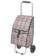 Сумка тачка с колесиками для покупок