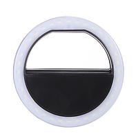 Селфи кольцо универсальное Selfie Ring Light USB черный RK-12 (RK12)  кольцо для селфи вспышка подсветка usb