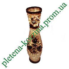 Плетеная ваза Арт.247.2-в80