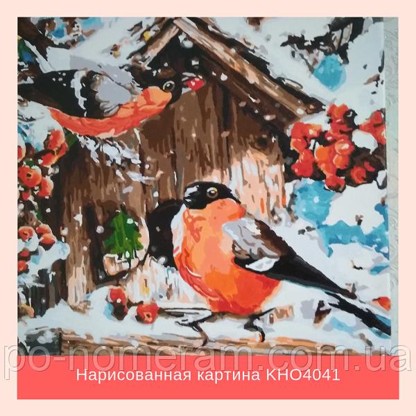 Раскраска для взрослых с птицами