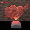 Cветодиодная лампа  Love Heart