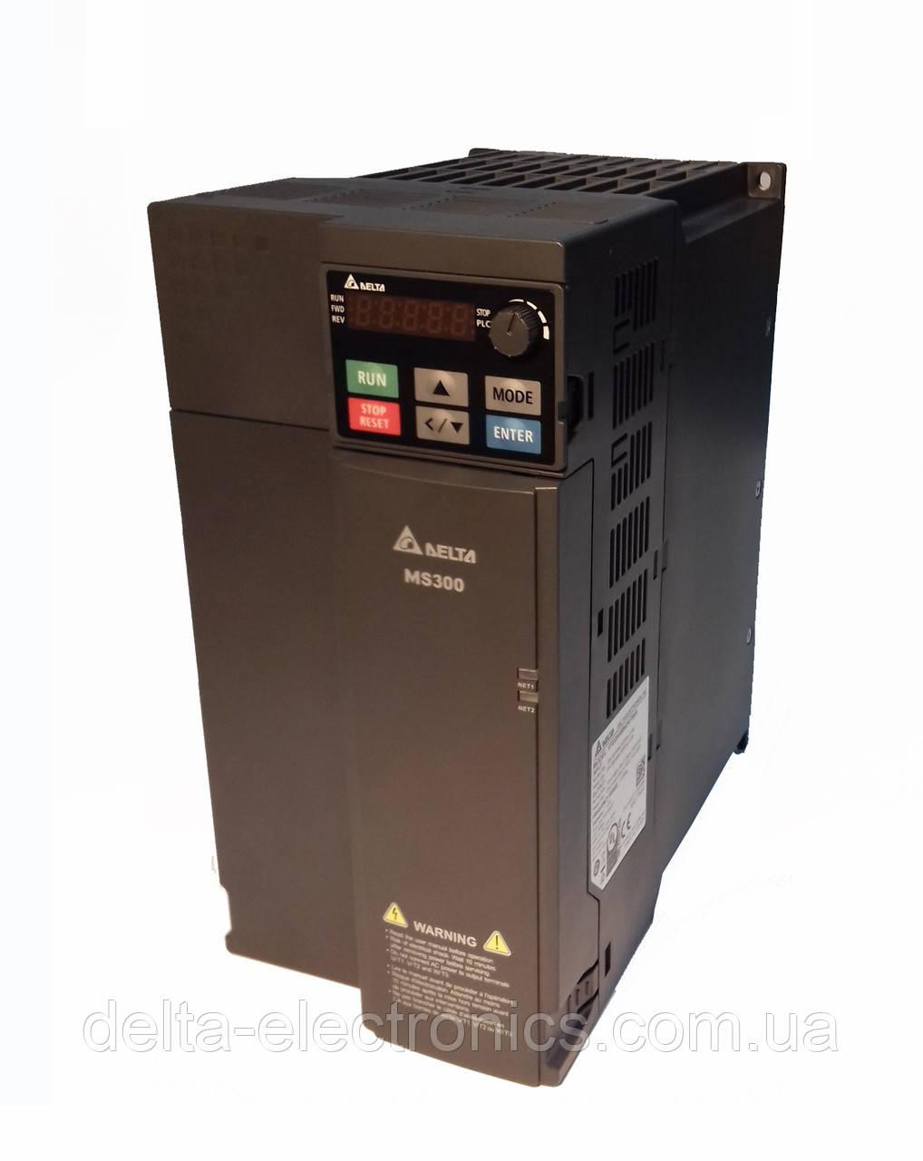 Преобразователь частоты MS300, 3x380В, 15 кВт, 32/36А, ЭМС С2 фильтр, векторный, c ПЛК, VFD32AMS43AFSAA