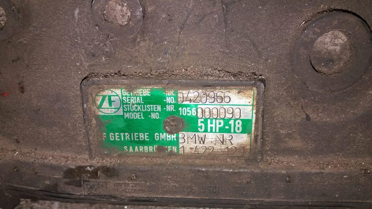 АКПП ZF 5HP18 BMW 523 E39