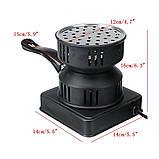 Электро печка  650 кВт  для розжига углей для кальяна, фото 3