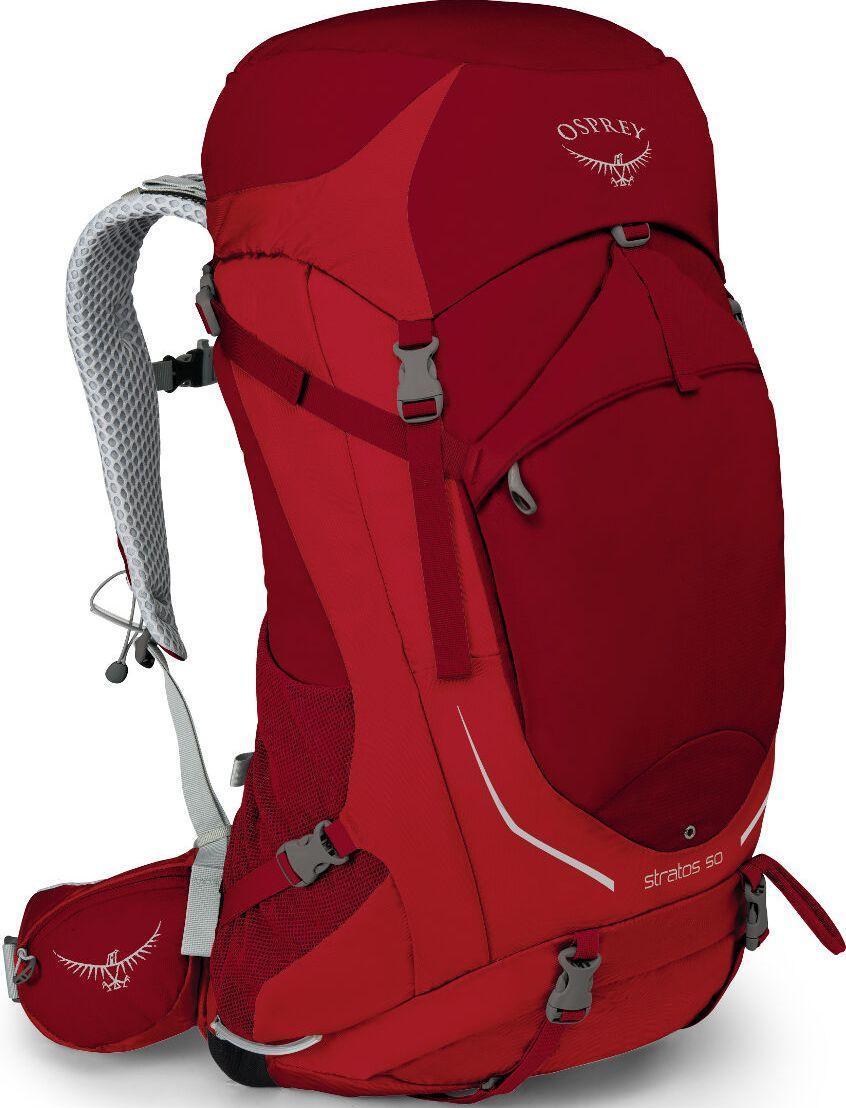 Рюкзак походный Osprey Stratos 50 Beet Red S/M, 47 л, красный