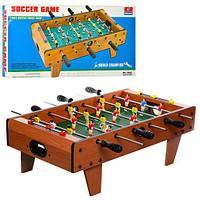 Настольный футбол деревянный 2035