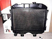 Радиатор охлаждения УАЗ 3-х рядный медный Иран