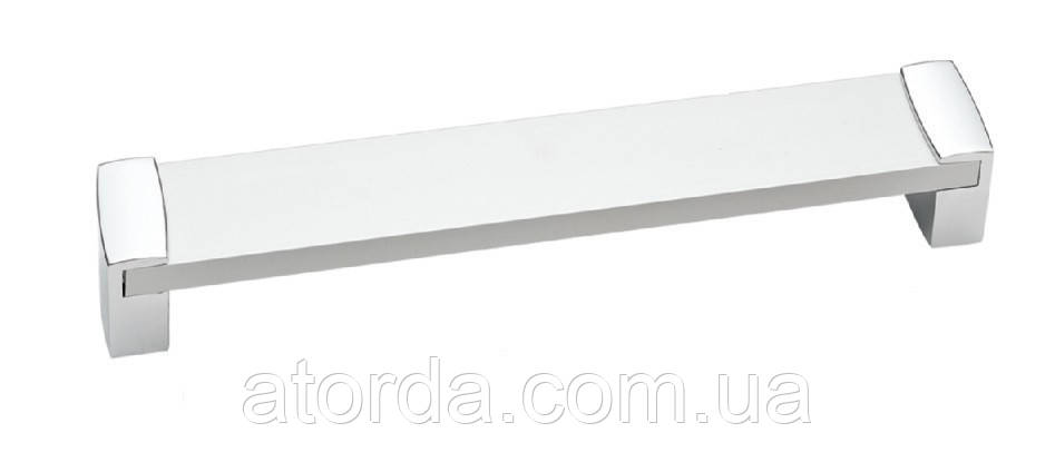 Ручка мебельная Ozkardesler 14.413-06 ALM VEGE BOY 224mm Хром-Хром