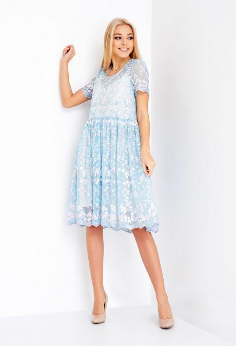 Гипюровое платье Софи