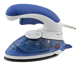 Ручний відпарювач парова праска з щіткою GHD HT-558B Blue (4910)