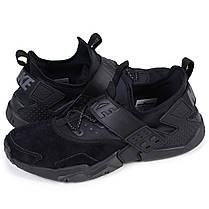 Мужские кроссовки Nike Air Huarache Drift PRM Black AH7335-001, оригинал,  фото 3 e3cc25948bf