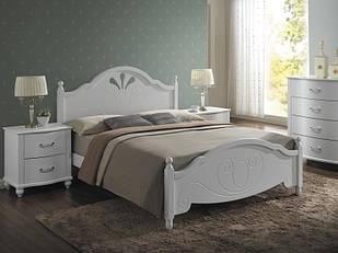 Ліжко двоспальне з ДСП/МДФ в спальню двоспальне Malta 160*200 Signal