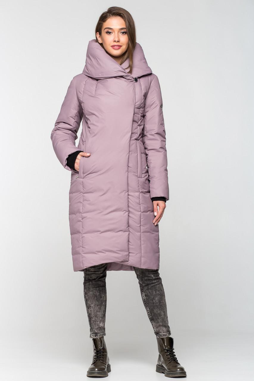 Теплая зимняя женская курточка KTL-223 - лиловая (#C14)