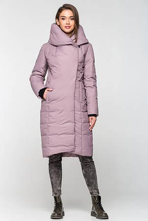 Теплая зимняя женская курточка KTL-223 - лиловая (#C14), фото 2
