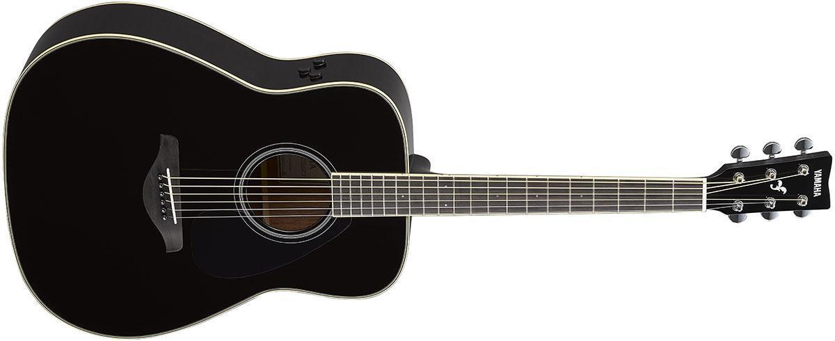Електро-акустична гітара YAMAHA FG-TA (Black)