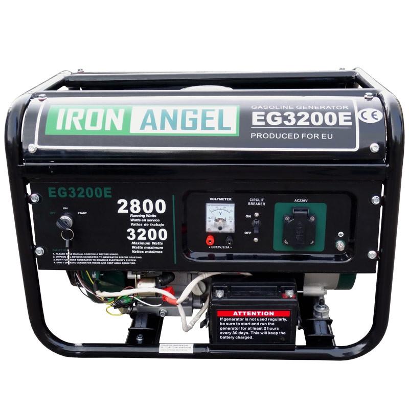 Генератор бензиновый Iron Angel EG 3200E