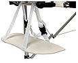 Складной стол PROFIBED для косметического массажа (кушетка ) алюминиевый, фото 5