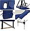 Складной стол PROFIBED для косметического массажа (кушетка ) алюминиевый, фото 6