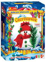 3139-03 Новогодний набор для творчества, Снеговичок
