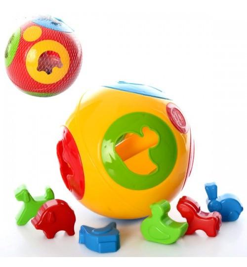 3237 Сортер Умный малыш Шар 2 ТехноК развивающие игрушки для малышей