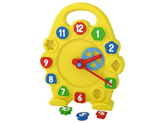 3046 Игрушка часы для изучения времени Технок, развивающие игры, фото 2