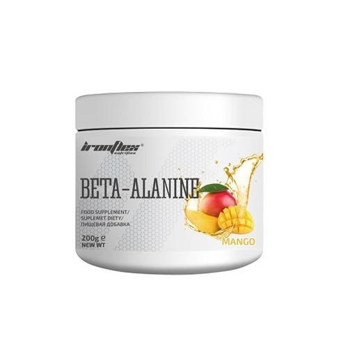 Бета-аланин IronFlex - Beta-Alanine (200 грамм) mango/манго