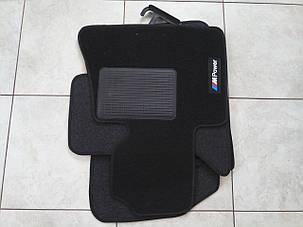 Резиновые коврики BMW X5 E53 с логотипом, фото 2