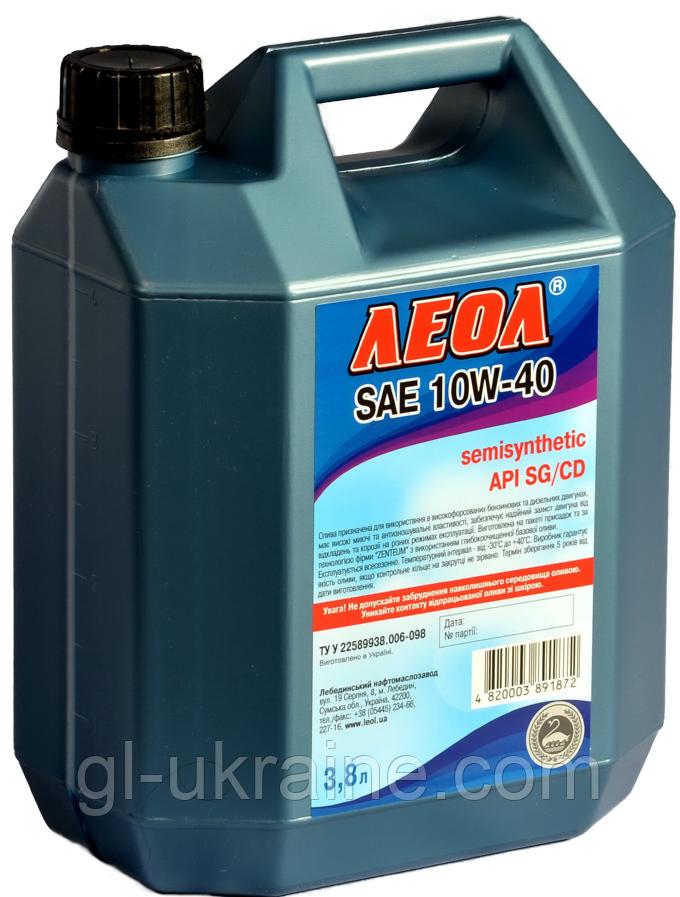 ЛЕОЛ SAE 10W-40, Моторное масло 3,8 л