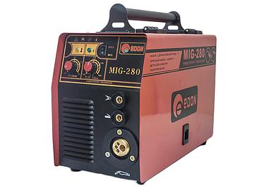Сварочный полуавтомат Edon MIG-280 MIG/MAG+MMA