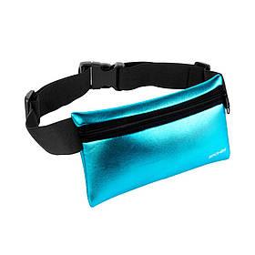 Поясная сумка-банданка Spokey Hips Bag сумка для бега на пояс Голубая (s0461)