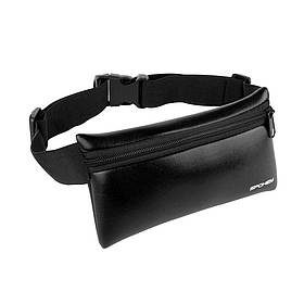 Поясная сумка-банданка Spokey Hips Bag сумка для бега на пояс Черная (s0460)