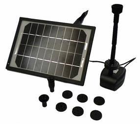 Насос фонтанный SOLAR LED