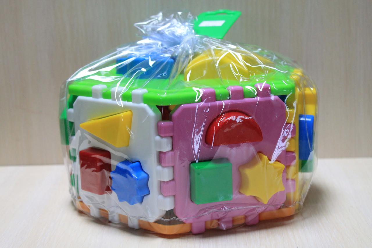 2445 Развиающая Игрушка Куб Умный малыш Гиппо ТехноК для детей
