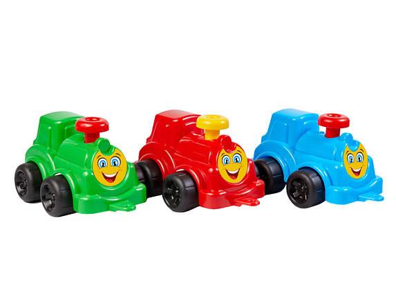 2308 Детская машинка Максік Паровоз, пластик ТехноК, фото 2