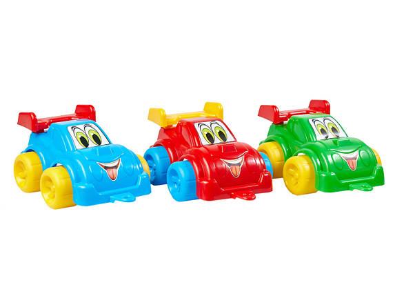 2971 Детская машинка Максик спортивная пластик Технок, фото 2