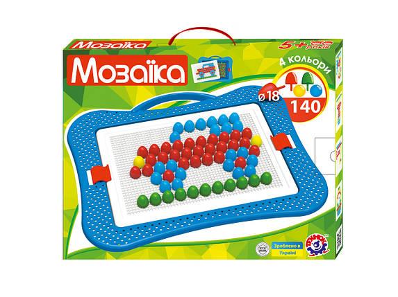 3381 Детская игра мозайка для малюків 6 пластмасса Технок, фото 2