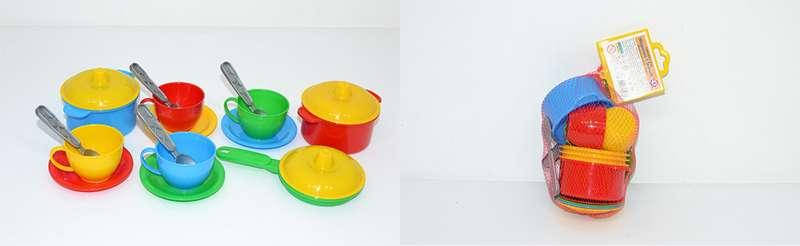2209 Посудка Маринка 1 в сетке пластик Технок, фото 2