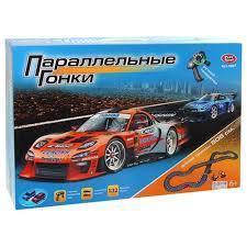 0867 Игровой набор Автотрек Параллельные гонки 505 см